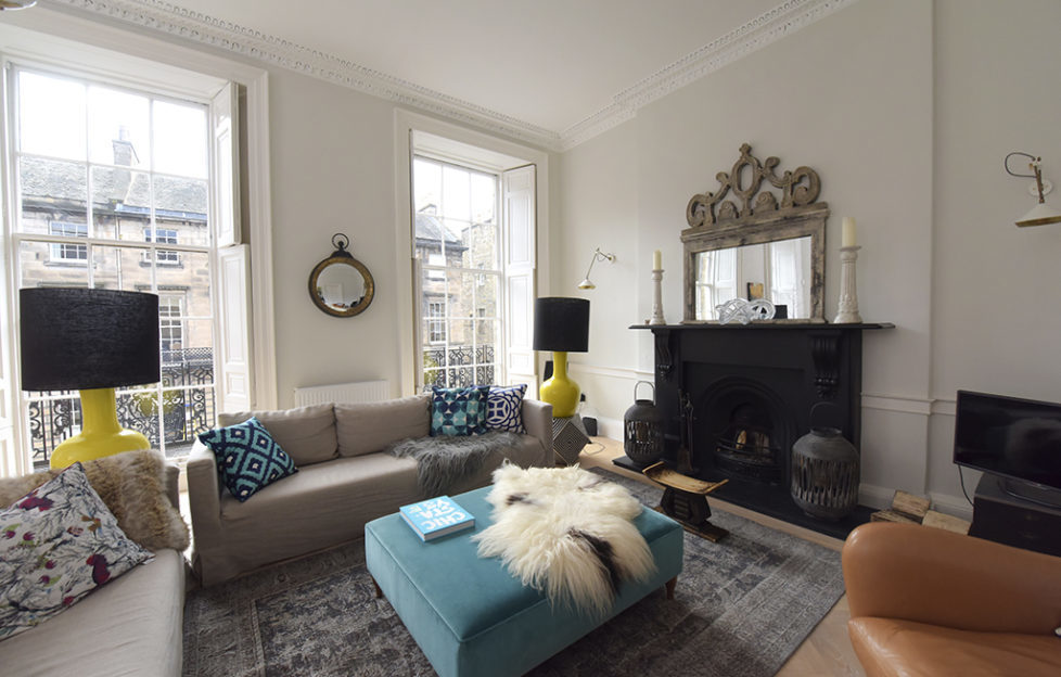 Interior Designer Creates Her Dream Home In Edinburgh Scottish Field Awesome Dream Home Interior Design