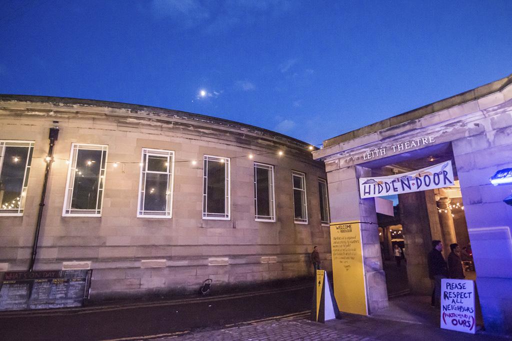 Leith Theatre was resurrected by Hidden Door.