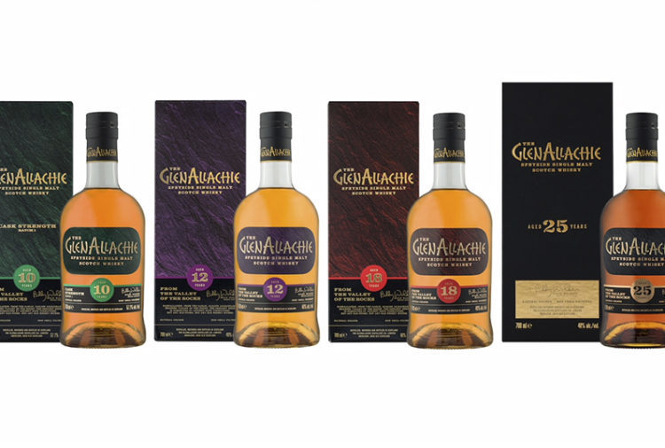 The GlenAllachie aged collection