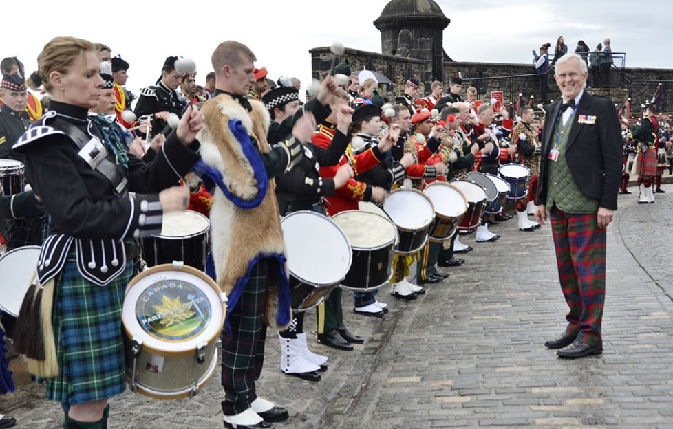 Dedication Of The Voice Of The Military Tattoo Scottish Field
