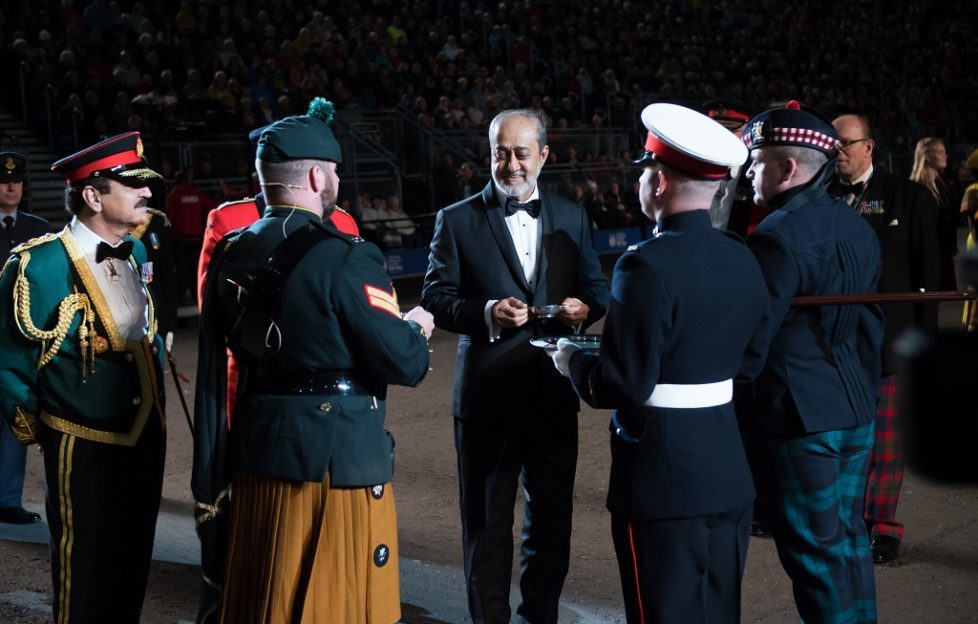 International guest takes Tattoo's official salute - Scottish Field
