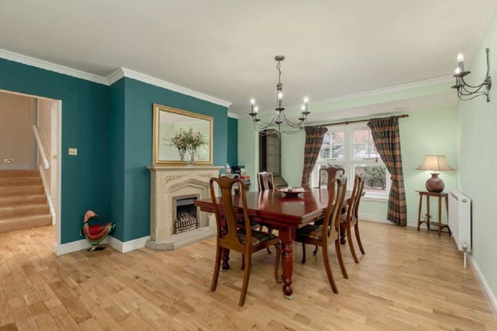 On The First Floor Are U2013 A Landing With Library Area Having Floor To  Ceiling Shelves And Curved Window Seat Ideal For Enjoying The Views Over  The Town ...