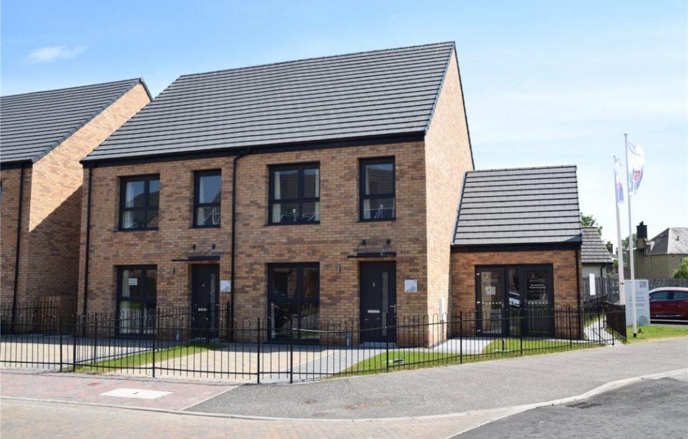 Contemporary Homes In A New Build Development Scottish Field