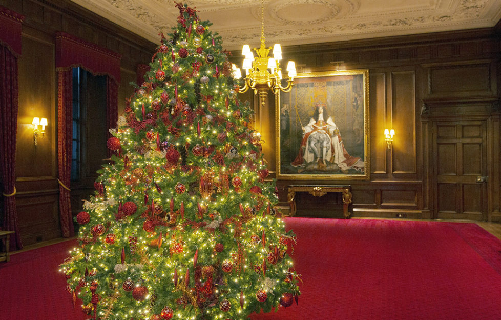 Christmas Palace.Experience Christmas Like Royalty This Year Scottish Field
